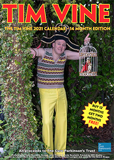 The Tim Vine 2021 Calendar