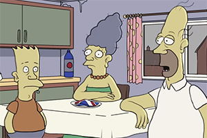 What if The Simpsons was British?