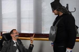 Batman on a budget.