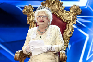 The Queen On Britain S Got Talent British Comedy Guide