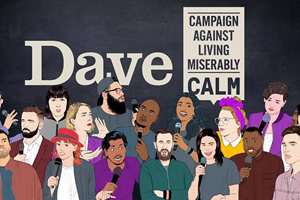 Dave's Comedy Festival In An Ad Break - Be The Mate You'd Want
