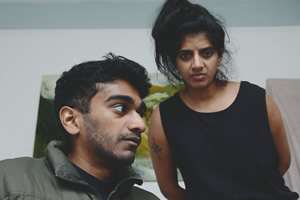 Image shows from L to R: Paul G Raymond, Nimisha Odedra.