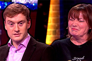 The Last Leg - James Acaster swears at Lorraine Kelly