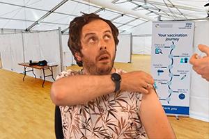 Vaccination Centre - Larry & Paul