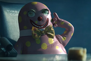 Blade Runner but Mr Blobby is there