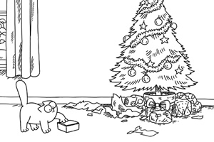 Simon's Cat - Christmas Tree - British Comedy Guide
