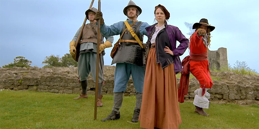 Image shows from L to R: Alex Carter, David Schaal, Alex Carter, Cariad Lloyd, Perry Fitzpatrick.