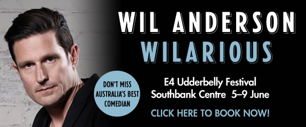 Wil Anderson advert